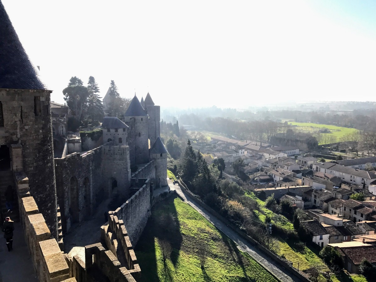 Past Travel Snaps 1: Carcassonne, France, Jan '17